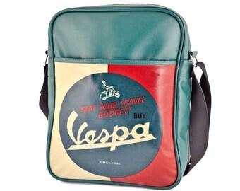 """Vespa shoulder bag/Vespa shouderbag """"Beat your travel budget"""""""