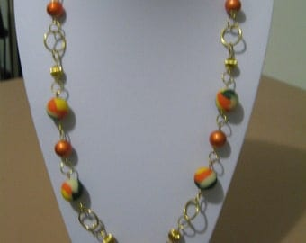 Bright summery necklace FREE POSTAGE