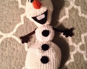 Hand Crochet Olaf Amigurumi