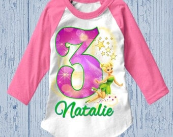 Tinkerbell Birthday Shirt - Tinkerbell Dress