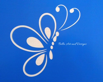List 4 Assorted Butterfly stencils *Free gift with every order*