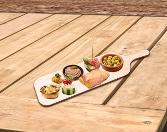 Tapas Board or try Board - stylish & practical - in two versions