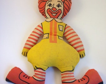 70's Vintage Ronald McDonald Doll