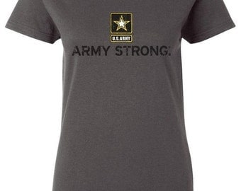 ARMY STRONG Ladies Shirt S-3XL