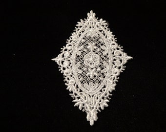 Venise Lace Medallions - Lot of 6