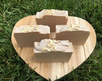 Goat's Milk and Oatmeal Soap