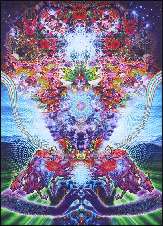 zebra psychedelia wall art - photo #48