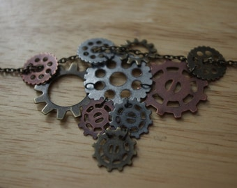 Linked Gear Necklace