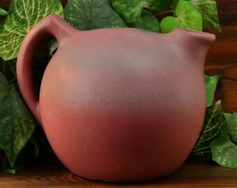 Niloak Pottery Jug ,1930's Ozark Dawn II Pink Jug