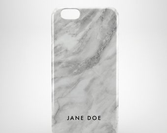 Personalized Marble iPhone 6 Case, iPhone 6s case, iPhone 5 case, iPhone 5s case, iPhone 5c case, iPhone 6 plus case, iPhone 6s plus case