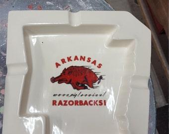 Ceramic Razorback Ash Tray