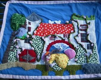 "Children's blankets ""Sleeping beauty"""