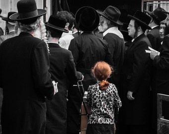 Jerusalem Fine Art Photography, Little girl in Meah Shearim, Israel