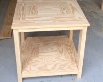 Cool End Table Design