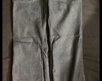 Vintage 1950s navy seafarer jeans