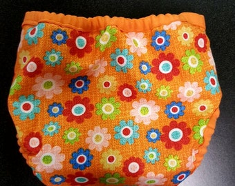 Paisley and Daisy Diaper Cover