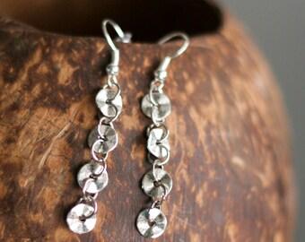 Minimal Earrings Everyday Earrings Steampunk Chain Earrings Simple Earrings Everyday Jewelry Minimalist Earrings Best Friend Gift Sister