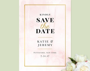 Save The Date, Printable Save The Date, Pretty Save The Date