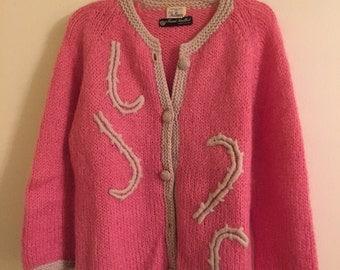 Vintage handmade wool sweater