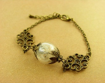 Bracelet - flower - ornament
