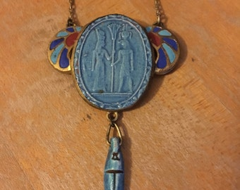 1920s Egyptian Revival Necklace