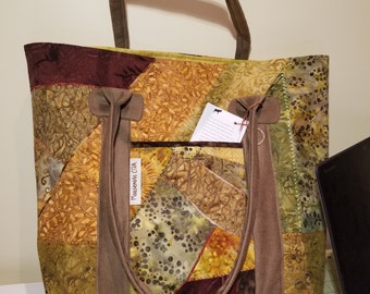 Large Tote Bag- Autumn Inspirations