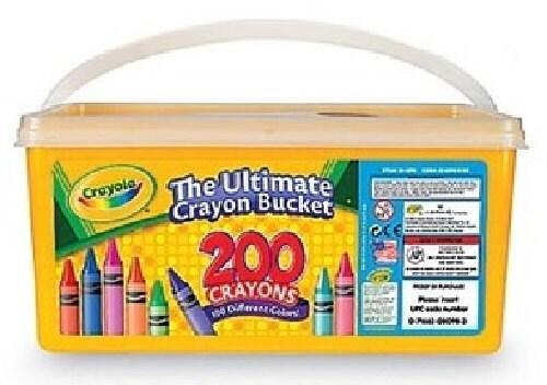 Crayola Ultimate Crayon Bucket  Crayons