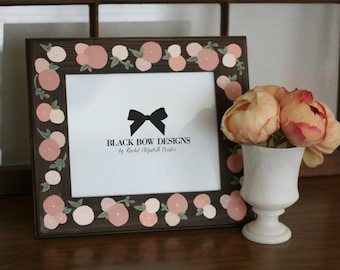 Rustic Floral 8 x 10 Frame