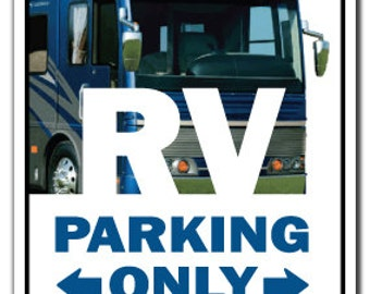 Rv ~Sign~ Recreational Vehicle Motor Home Camper Gift