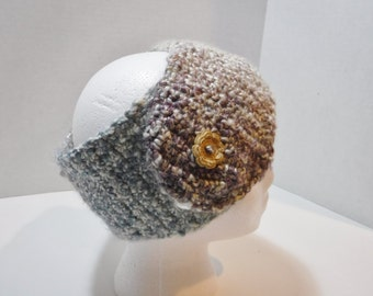 Crocheted head wrap