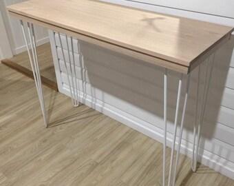 Stylish Wooden Top Breakfast Bar Table