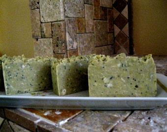 Lemon Verbeena - Handmade Soap - Organic Artisan Soap – Natural Vegan Soap - Bath & Beauty
