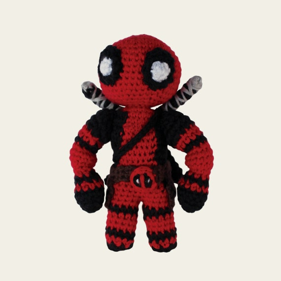 Deadpool Marvel Comics. Amigurumi Pattern PDF DIY Crochet