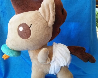 Pound Cake My Little Pony Plush  15+ inches tall   Ready to ship  Ships to us free
