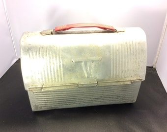 Vintage Thermos Lunch Box | Vintage Metal Thermos | Antique Metal Thermos | Awesome Deal