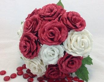 Bridal Bouquet, bridesmaid, flower girl, bachelorette bouquet