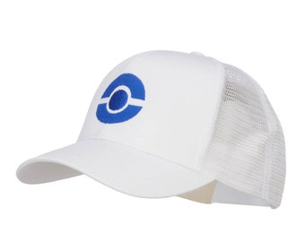 Ash Ketchum Poke Ball Embroidered Youth Cap