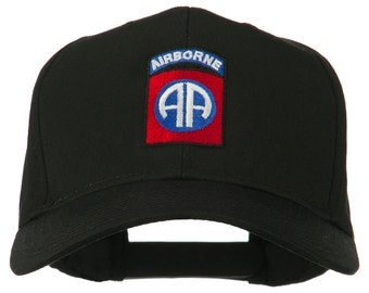 82nd Airborne Military Embroidered Cap