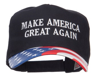 Make America Great Again Flag Cap