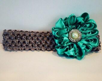Dahlia Flower Headband