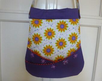 Shoulder bag, made by cotton