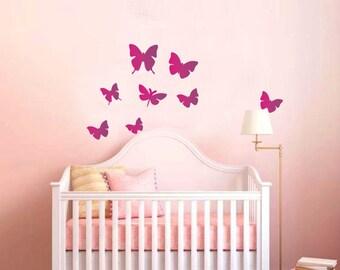 Butterfly Wall Vinyl Sticker Decal