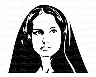 Padme Design for Silhouette and other craft cutters (.svg/.dxf/.eps/.pdf)