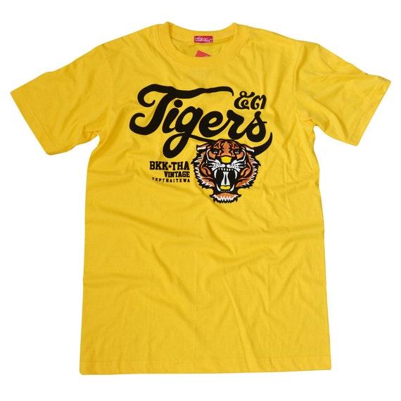 TepThaiTewa : Tiger Vintage Style Men's T-Shirt