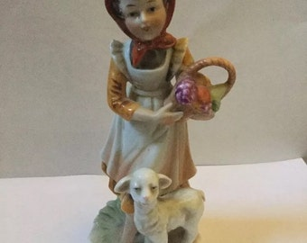 Marks and Rosenfields Bo Peep Figurine Vintage