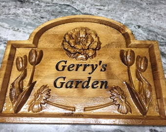 Garden/Flower sign