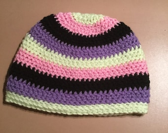 Hand crocheted hat