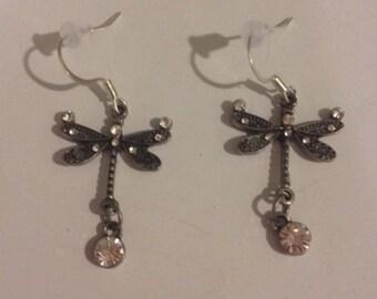 Dangly Dragonfly Earrings