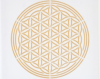 Flower of life on screen (no stones)