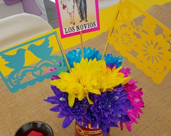 Mexican Fiesta Centerpiece Props